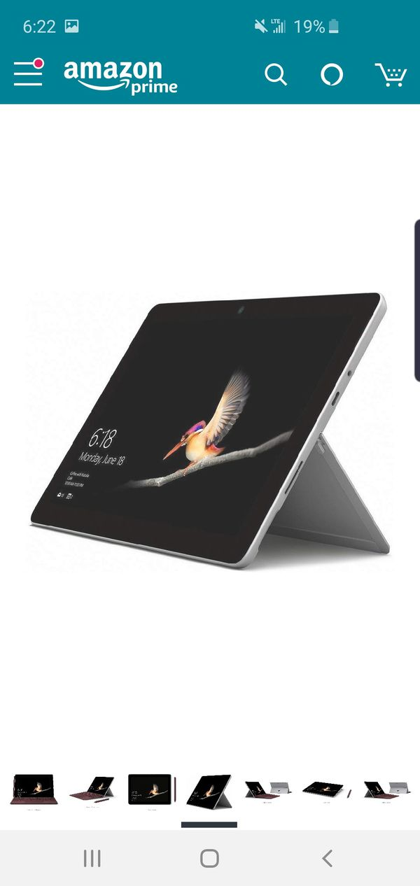 Microsoft surface go brand new with wireless keyboard