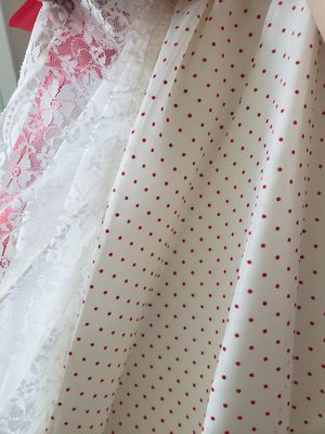 Dress - Red Polka-Dot - Vintage Prom for Sale in Palmdale, CA