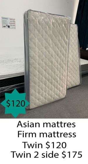 Asian firm mattress twin size for Sale in Costa Mesa, CA
