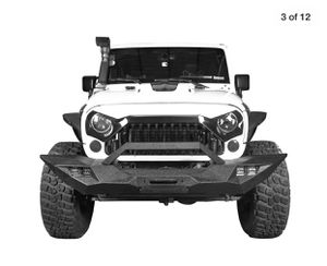 HOOKE ROAD metal bumper for Jeep Wrangler 07-18 for Sale in Queens, NY