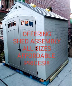 Shed Assembly, Yard cleaning for Sale in Brooklyn, NY