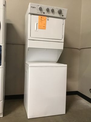 """New Whirlpool 27"""" Stacked Washer And Gas Dryer Unit!! for Sale in Gilbert, AZ"""