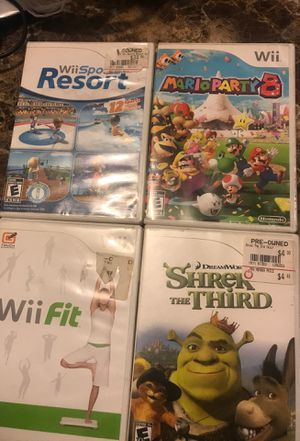 Wii games for Sale in Brighton, CO