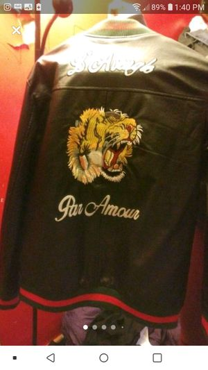 Gucci Leather Jacket for Sale in Aliquippa, PA