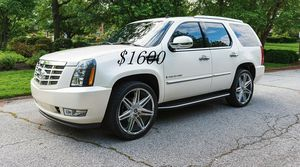 🍀I sell👍my🆕family🍀Suv $1,600🍀2008 Cadillac🍀 for Sale in Chesapeake, VA