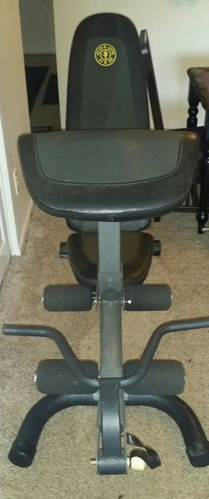 Golds gym weight bench for Sale in Coconut Creek, FL