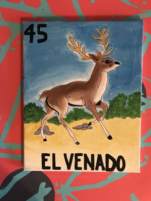 10x12 lotería card paintings. for Sale in Washington, DC