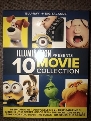 ILLUMINATION 10 MOVIE COLLECTION for Sale in La Habra Heights, CA