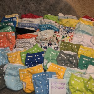 One Size Pocket Cloth Diapers And Inserts for Sale in Oklahoma City, OK