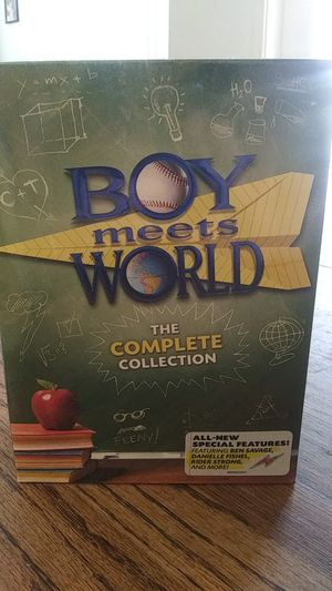 Boy meets world set of 4 dvds for Sale in Lake Elsinore, CA