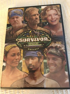Survivor Gabon DVD for Sale in Houston, TX