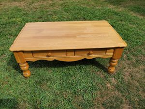 Solid Wood Coffee Table 45.00 for Sale in Massillon, OH