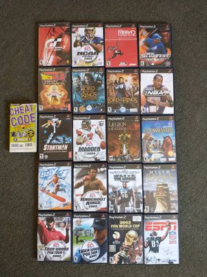 20 PS2 Games for Sale in Santa Ana, CA