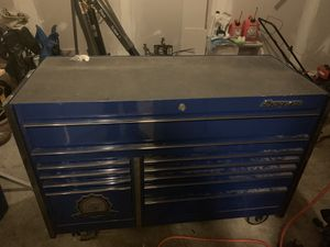 Snap on double bank tool box for Sale in St. Louis, MO