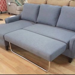 Sofa Sleeper Chaise| Color Options | In Stock | Fast Delivery | for Sale in Houston,  TX