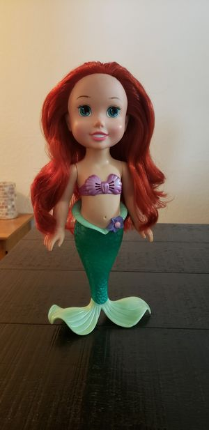 My First Disney Princess Singin' in the Bath Ariel for Sale in Haines City, FL
