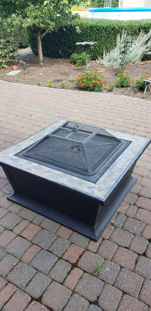 Fire pit with cover for Sale in Battle Ground, WA