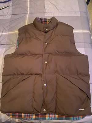Stussy down puffer vest sz Large for Sale in Washington, DC
