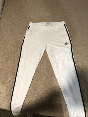 Mens White Adidas Track pants for Sale in Kirkland, WA