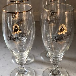 4 X Pils Glasses Beer From Germany for Sale in Sterling, VA