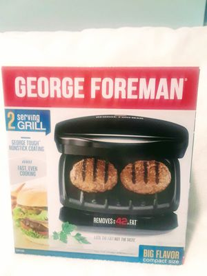 George Foreman 2 serving grill for Sale in Weston, FL
