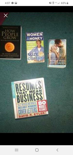 """Lot of 4 books """"FREE"""" for Sale in Lacon, IL"""