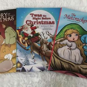 Christmas Books Set of 3, Brand NEW! Porch Pickup or Can Ship! for Sale in Roxbury Township, NJ