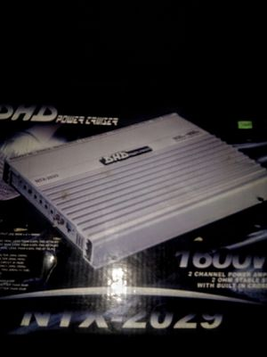DHD POWER CRUIZER 1600 WATTS 2CH AMP for Sale in Arcadia, CA
