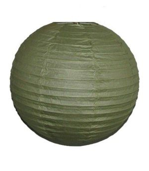 """Wholesale Lot 24 Pack - Party Paper Lantern-Round 12""""-Luau Supplies- Oriental/Chinese Lamps - Sage Green for Sale in Kissimmee, FL"""