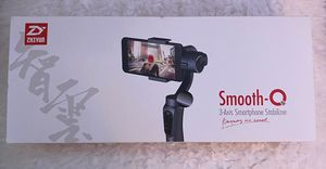 ZHIYUN smooth-Q 3 axis smartphone stabilizer for Sale in San Diego, CA