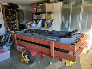 Sundilphin fishing boat 8.5 foot (trailer included) for Sale in Salida, CA
