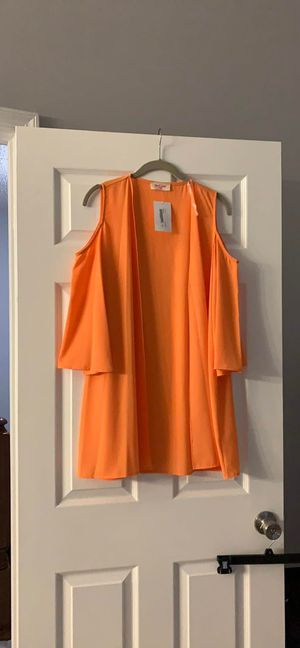 NEW Cardigan-Orange for Sale in Woodbridge, VA