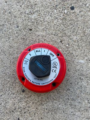Perko battery switch for Sale in San Diego, CA