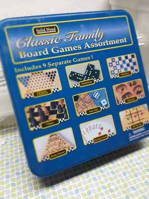 Board game box with numerous games in it for Sale in Beverly Hills, MI
