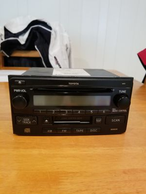 Car stereo with cd player for Toyota. for Sale in Cypress, CA