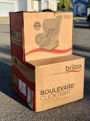 Britax Boulevard ClickTight Convertible Car Seat for Sale in Elk Grove, CA