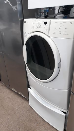 Kenmore white front load Electric dryer excellent condition for Sale in Maryland City, MD