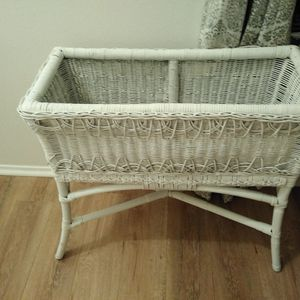 27 Inches Tall X 29 Inches Wide Wicker Plant Stand for Sale in Menifee, CA