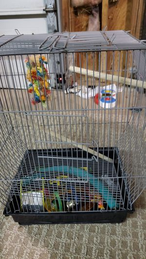 Bird cage and accessories for Sale in Round Rock, TX