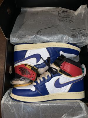Jordan 1 Retro High Union Los Angeles Blue Toe for Sale in Florence, KY