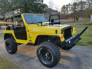 1998 Jeep Wrangler TJ 4.0L Sport for Sale in Marietta, GA