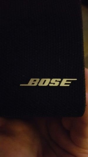 Bose surround double cubes with wall mounts. for Sale in Modesto, CA