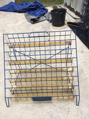 7 tier wire metal display racks for Sale in Jupiter, FL