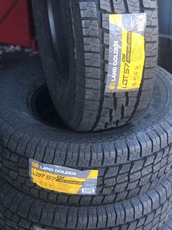 285/75/16 All Terrain New Tires Price includes installation and balance for Sale in Norwalk,  CA