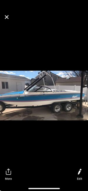 1994 tigé ski/wakeboard boat (lake ready) for Sale in Mesa, AZ
