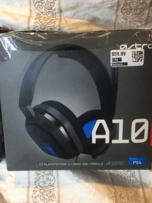 A10 Wired Gaming Headset For Xbox One PlayStation 4 for Sale in Chino, CA