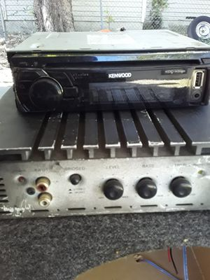 Radio speaker and amp for Sale in Fort Worth, TX