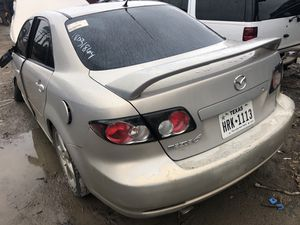 2008 Mazda 6 parts motor and transmission good for Sale in Dallas, TX