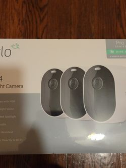 Arlo Pro 4 Spot Light Cam 3 Pack for Sale in Pittsburgh,  PA