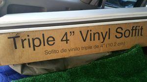 "Triple 4"" white soffit for Sale in Virginia Beach, VA"